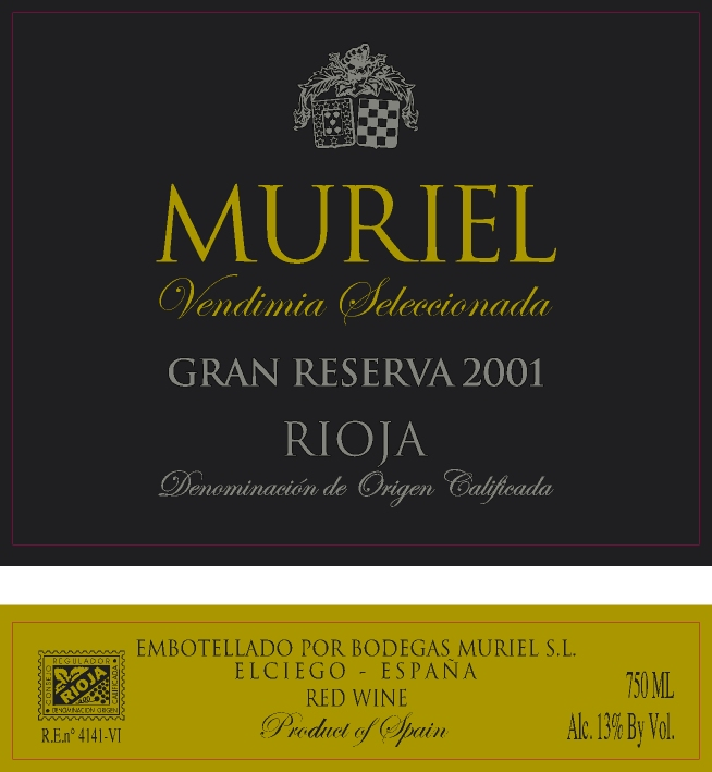 muriel gran reserva: