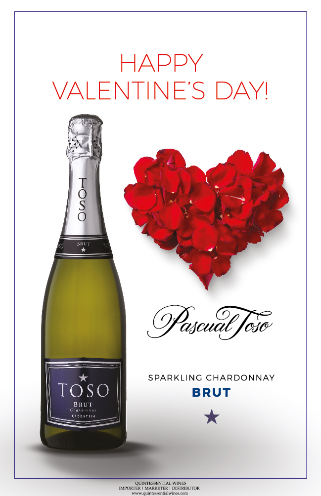 Valentines Day Toso Brut Promotion Sheet